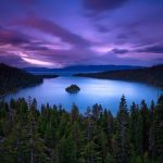 Lake Tahoe Emerald Bay at Sunset  - things to do in lake tahoe | Windy Pinwheel | Family Fun Adventures | Northern Nevada | Reno | Sparks | Lake Tahoe | Sierras