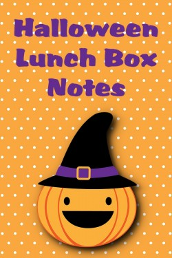 Halloween Printable Lunch Box Notes, 2012 Copyright Christine Hull, Windy Pinwheel