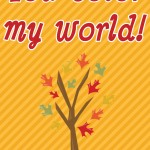 Halloween Printable: You Color My World, 2012 Copyright Christine Hull, Windy Pinwheel