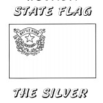 Nevada Day Coloring Book: Nevada State Flag, The Silver State, 2012 Copyright Christine Hull, Windy Pinwheel