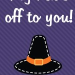 Thanksgiving Printable: My hat's off to you, 2012 Copyright Christine Hull, Windy Pinwheel