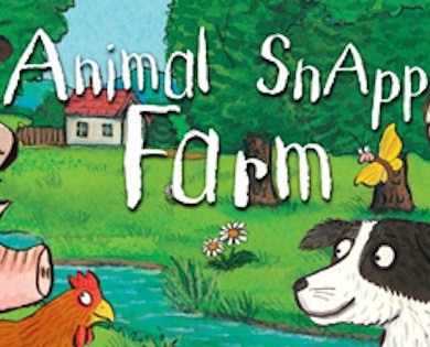 Nosy Crow: Animal SnApp: Farm Cover, Source: facebook.com/NosyCrow