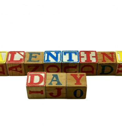 Valentine's Day Block Letters, Source: Photodune.net