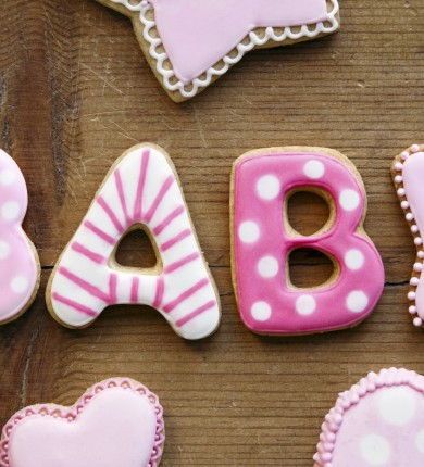 Cookies for that spell baby for a baby shower. Source: Photodune.net