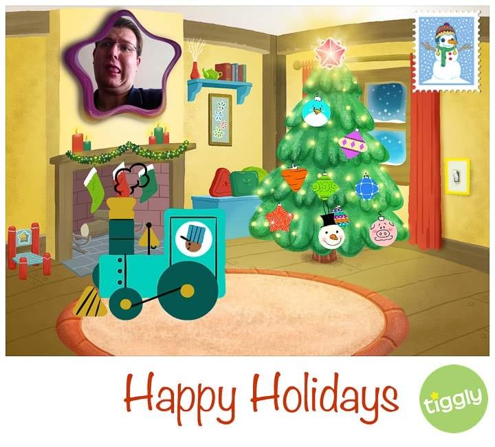tiggly christmas card - tiggly christmas | Windy Pinwheel | Family Fun Adventures | Northern Nevada | Reno | Sparks | Lake Tahoe | Sierras