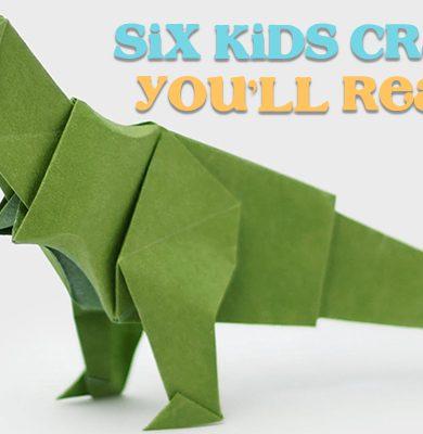 Six Crafts You'll Really Enjoy