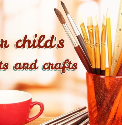 Grow a child's interest in arts and crafts header