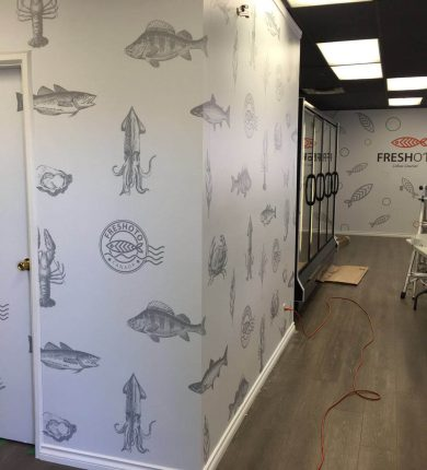 Office or business vinyl wall graphics, Source: Twiisted Design Print Media
