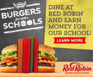 Help your school earn money by using your Red Robin Royalty® account