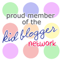 Proud Member of the Kid Blogger Network