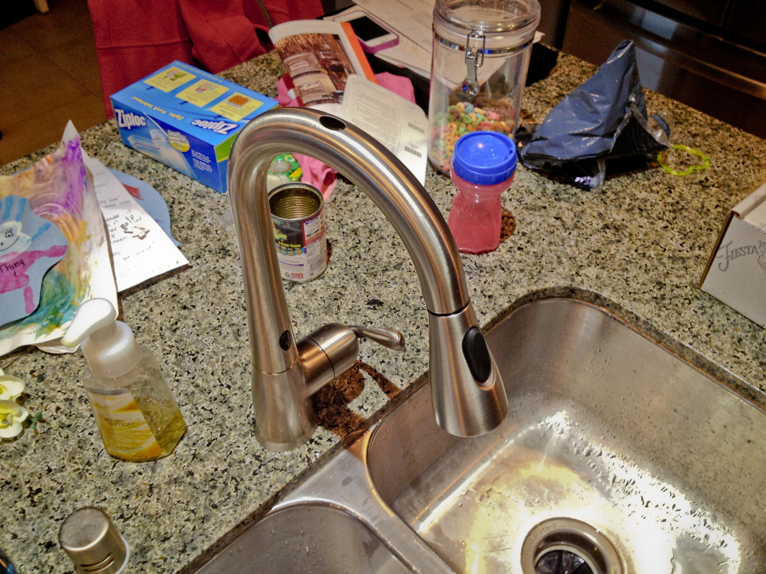Moen Arbor with MotionSense kitchen faucet | Windy Pinwheel