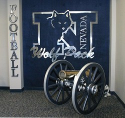 Keep the Fremont Cannon Blue - Go Nevada Wolf Pack: Fremont Cannon, Source: MWC Board Nevada Wolf Pack