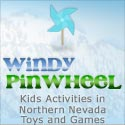 Windy Pinwheel - Kids Activities in Northern Nevada, Toys and Games kids activities in northern nevada